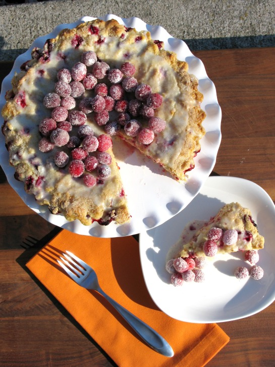 cranberry orange buttermilk cake | sweet betweens